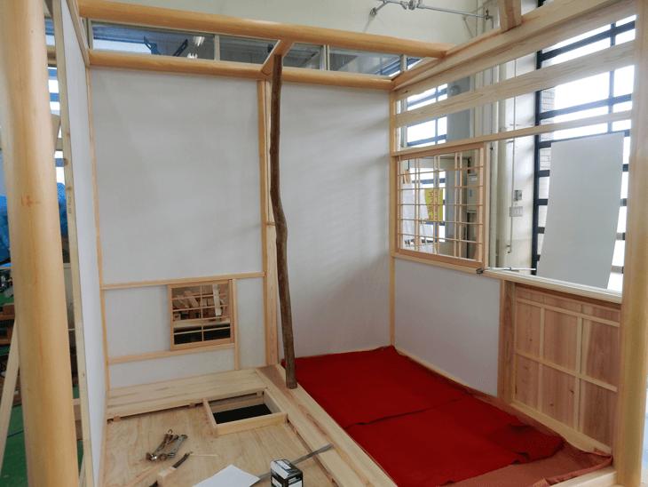 現在製作中の『黄金の茶室』