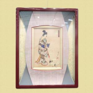 近畿経済産業局長賞福永日進堂福永 郁余「100年前の木版画美人画浮世絵」